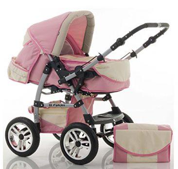 Kinderwagen rosa