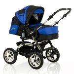 City Driver Kinderwagen blau Kinderwagenset