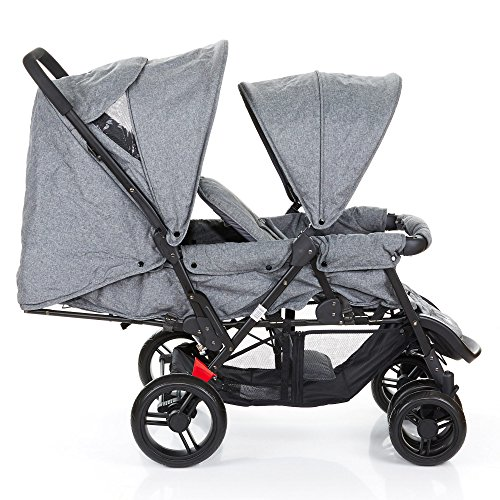 abc design geschwister kinderwagen zwillingswagen tandem. Black Bedroom Furniture Sets. Home Design Ideas