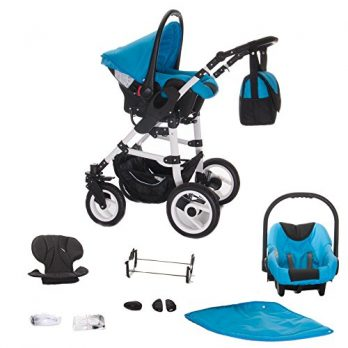 Bebebi Paris 3 in 1 Kombikinderwagen