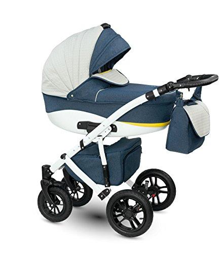 camarelo kombi kinderwagen sirion 3 in 1 mit babywanne. Black Bedroom Furniture Sets. Home Design Ideas