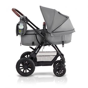 Kinderkraft grau mit Rädern