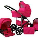 Kinderwagen rosa Lux4Kids