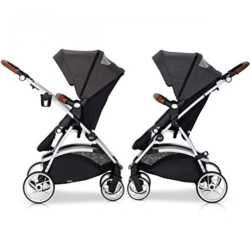3in1 kombi kinderwagen optimo adriatic komplettset leder. Black Bedroom Furniture Sets. Home Design Ideas