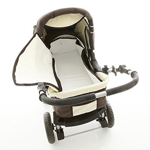 chilly kids icaddy kinderwagen safety set autositz isofix basis regenschutz moskitonetz. Black Bedroom Furniture Sets. Home Design Ideas