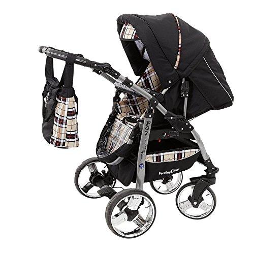 ferriley fitz daytona kinderwagen safety sommer set sonnenschirm autositz isofix basis. Black Bedroom Furniture Sets. Home Design Ideas