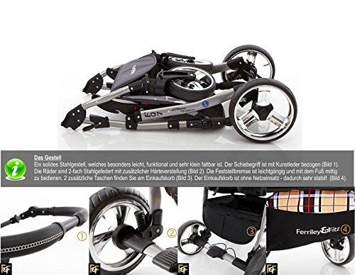 ferriley fitz daytona kinderwagen safety winter set. Black Bedroom Furniture Sets. Home Design Ideas