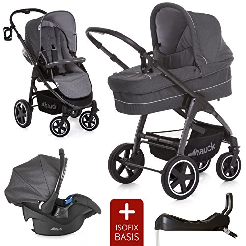 hauck kinderwagen set 3in1 soul plus inkl babyschale. Black Bedroom Furniture Sets. Home Design Ideas