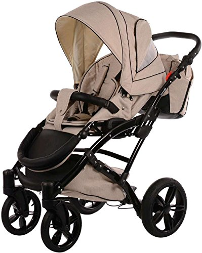 knorr baby voletto premium beige 3287 5 2in1 kombikinderwagen kinderwagen set mit babywanne und. Black Bedroom Furniture Sets. Home Design Ideas