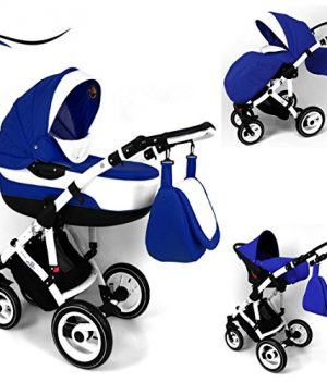 kinderwagen blau kaufen blaue 3 in 1 kombikinderwagen. Black Bedroom Furniture Sets. Home Design Ideas