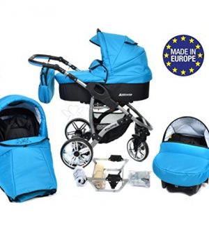 kinderwagen blau kaufen blaue 3 in 1 kombikinderwagen. Black Bedroom Furniture Sets. Home Design Ideas