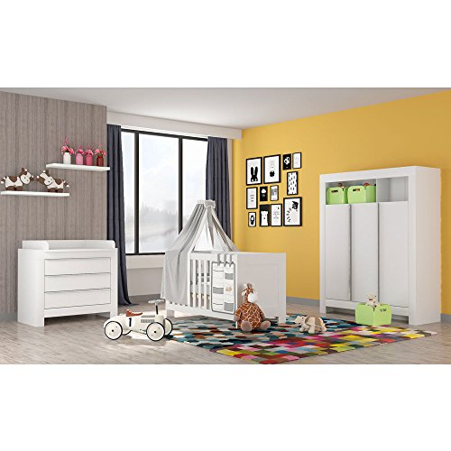 babyzimmer felix mit 3 t rigem kleiderschrank in reinem. Black Bedroom Furniture Sets. Home Design Ideas
