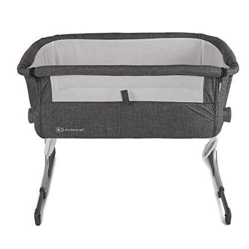 kinderkraft uno 2in1 beistellbett mit matratze babybett kinder baby reisebett mit aluminium. Black Bedroom Furniture Sets. Home Design Ideas