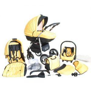 36caf2df20 Akjax Fobos Plus 3in1 – Alurahmen – Kombikinderwagen – Kinderwagen – Buggy  – Babyschale