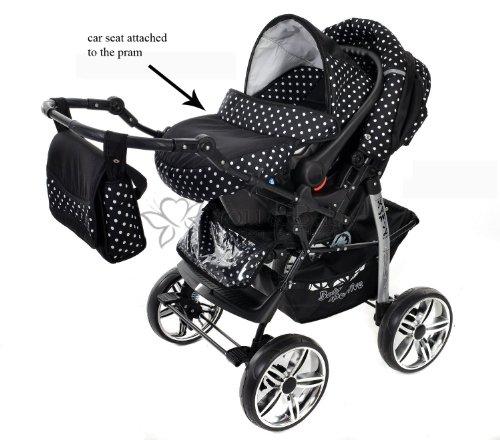 baby sportive kamil kombikinderwagen set incl kinderwagen mit zubehr babyschale und sportwagen. Black Bedroom Furniture Sets. Home Design Ideas