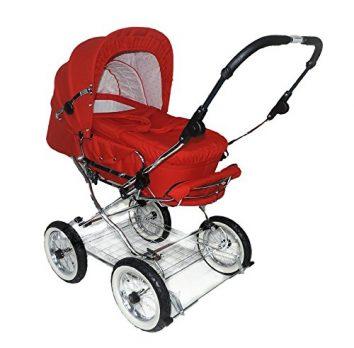 Eichhorn Kinderwagen Mädchen rot