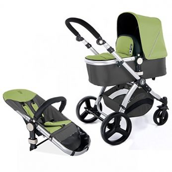 Buggy Kinderwagen grün
