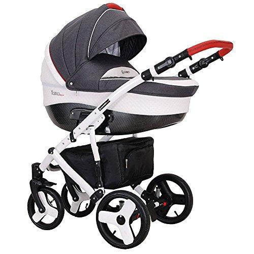 kombikinderwagen 3 in 1 babywanne florino02 sportwagen. Black Bedroom Furniture Sets. Home Design Ideas