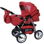 Lux4Kids Kinderwagen rot