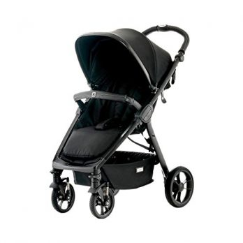 City Kinderwagen schwarz blackfishbone
