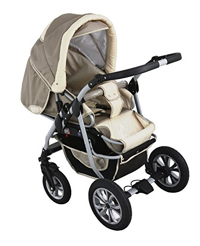clamaro 39 coral 2018 39 kinderwagen 3 in 1 kombi system 24. Black Bedroom Furniture Sets. Home Design Ideas