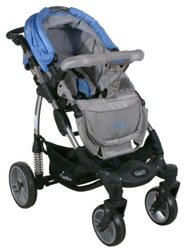 arti kinderwagenset comfort b503 2w1 blue gray blau grau. Black Bedroom Furniture Sets. Home Design Ideas