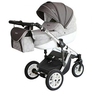 graue kinderwagen online kaufen 3 in 1 kombikinderwagen grau. Black Bedroom Furniture Sets. Home Design Ideas