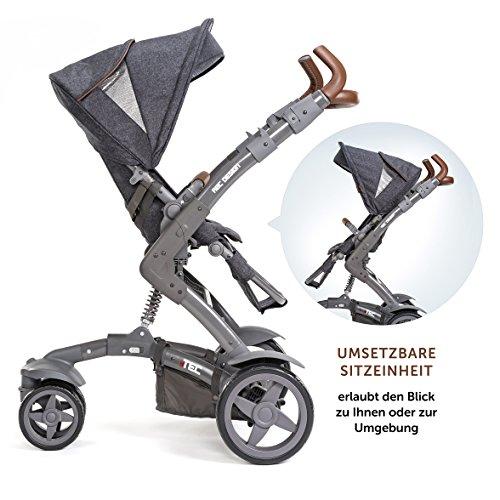 abc design 3 tec 2in1 kombikinderwagen set kinderwagen. Black Bedroom Furniture Sets. Home Design Ideas
