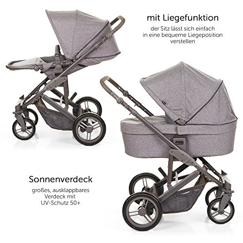 abc design kombi kinderwagen 2in1 set catania 4 babywanne und sportwagen inkl xxl zubeh r set. Black Bedroom Furniture Sets. Home Design Ideas