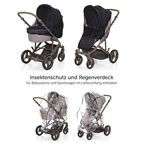 abc design kombi kinderwagen 2in1 set catania 4 babywanne und sportwagen inkl xxl zubeh r set. Black Bedroom Furniture Sets. Home Design Ideas
