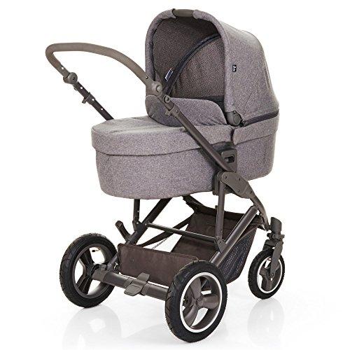 Zwillingskinderwagen abc  ABC Design Kombi Kinderwagen Set 2in1 Catania 4 Air mit Luftreifen ...