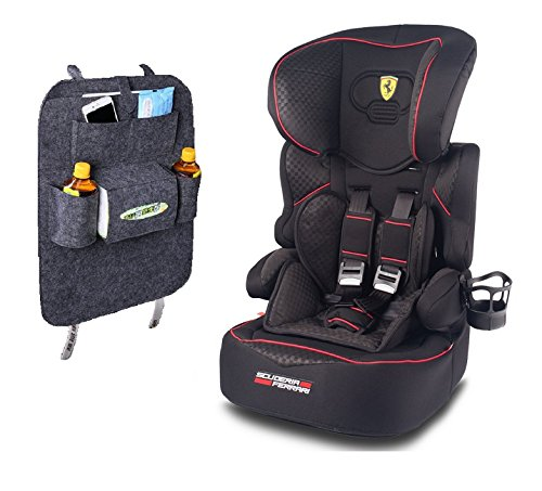 autositz ferrari kindersitz 9 36 kg kinderautositz gruppe i ii iii kinderwageneldorado. Black Bedroom Furniture Sets. Home Design Ideas