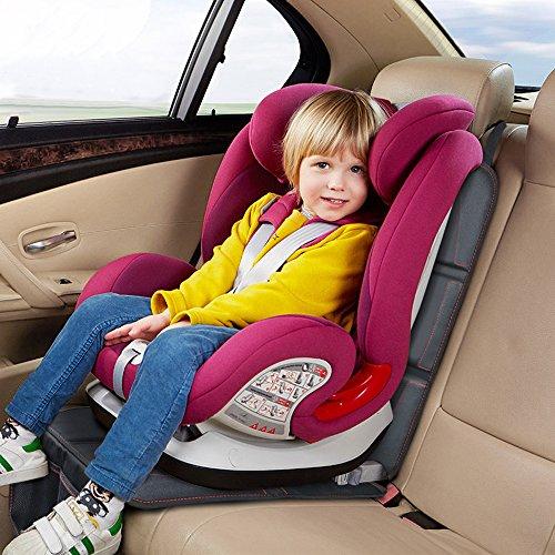 Auto-Kindersitzunterlage Wasserabweisend f/ür Kindersitze Autositzschutz Sitzschoner zum Schutz Ihrer Autositze Autositzauflage Kindersitzunterlage