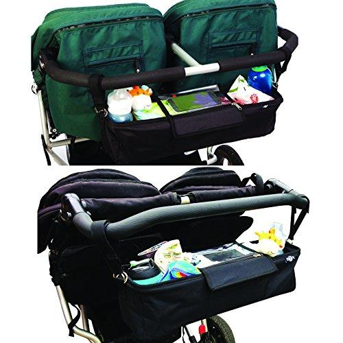btr kinderwagen organizer f r zwillings kinderwagen und geschwisterwagen exklusive smartphone. Black Bedroom Furniture Sets. Home Design Ideas