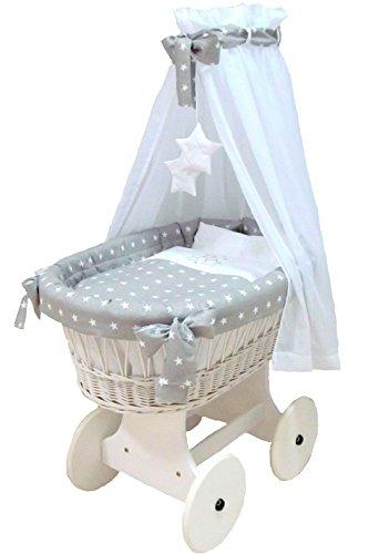 babymajawelt stubenwagen komplett set 10 teile inkl. Black Bedroom Furniture Sets. Home Design Ideas