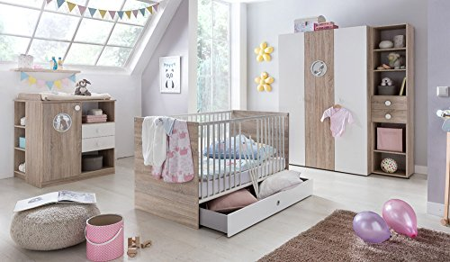 babyzimmer kinderzimmer komplett set babym bel. Black Bedroom Furniture Sets. Home Design Ideas