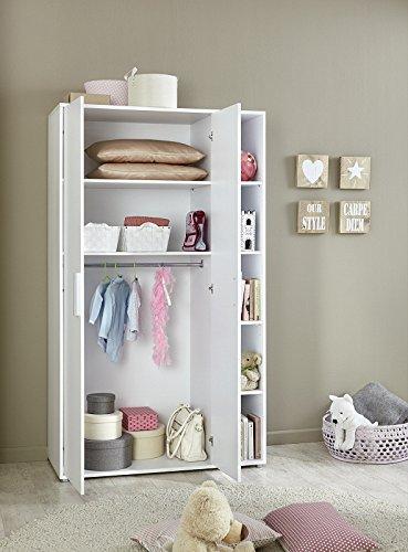 babyzimmer kinderzimmer komplett set kim 4 in wei. Black Bedroom Furniture Sets. Home Design Ideas