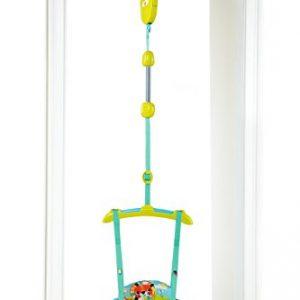 h/öhenverstellbar ab 6 Monaten bunt Hauck T/ürhopser Jump Deluxe Disney Pooh mit Spielstation