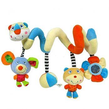 Kinderwagen Spielzeug Spirale Rassel