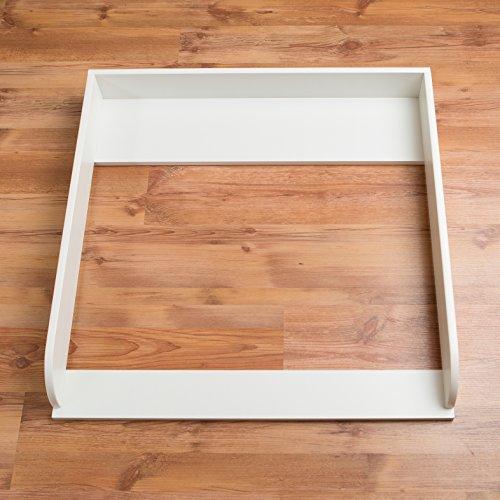 puckdaddy wickelaufsatz rund in wei f r ikea malm. Black Bedroom Furniture Sets. Home Design Ideas