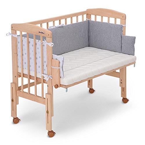 fabimax beistellbett pro mit matratze und nestchen kinderwageneldorado. Black Bedroom Furniture Sets. Home Design Ideas