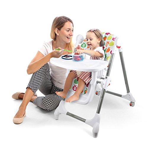 fascol klappbar babyhochstuhl hochstuhl mit tisch. Black Bedroom Furniture Sets. Home Design Ideas