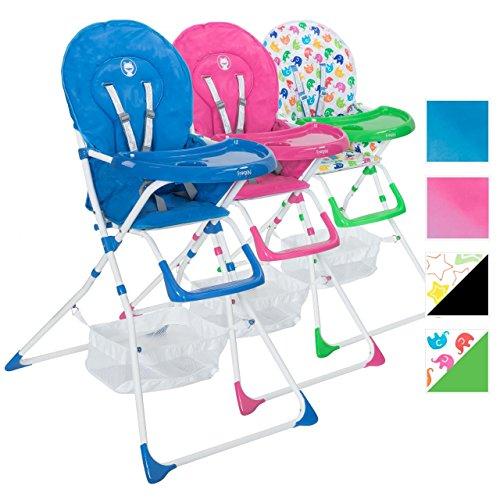 froggy baby kinder hochstuhl mit sicherheitsgurt und gro em esstisch zusammenklappbar. Black Bedroom Furniture Sets. Home Design Ideas