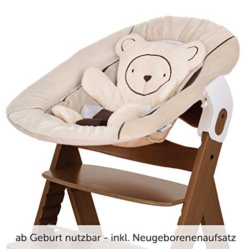 hauck alpha newborn set baby holz hochstuhl ab geburt. Black Bedroom Furniture Sets. Home Design Ideas