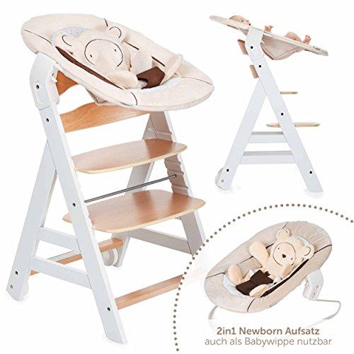 hauck beta plus newborn set baby holz hochstuhl ab. Black Bedroom Furniture Sets. Home Design Ideas