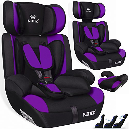 kidiz autokindersitz kinderautositz sportsline gruppe 1. Black Bedroom Furniture Sets. Home Design Ideas