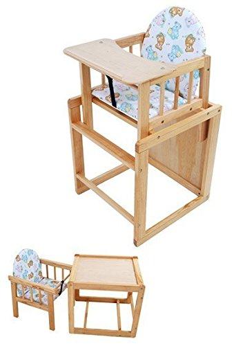 kombi hochstuhl kiefer massiv von united kids essbrett. Black Bedroom Furniture Sets. Home Design Ideas