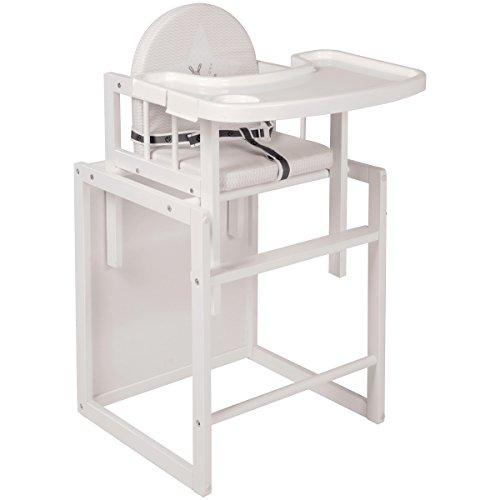 kombihochstuhl fox und bunny gurtsystem und essbrett holz. Black Bedroom Furniture Sets. Home Design Ideas