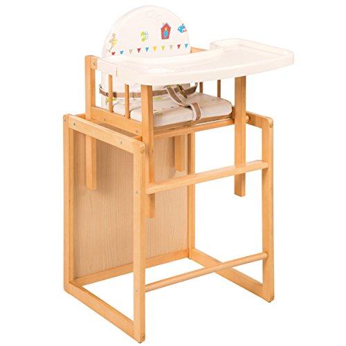 kombihochstuhl waldhochzeit gurtsystem und essbrett holz. Black Bedroom Furniture Sets. Home Design Ideas