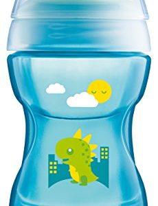240 ml Ab 6 Monate N/ûby ID10410AQUA 360/° Wonder Cup Blau